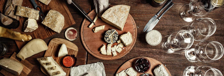 Degustazione di vini e formaggi francesi