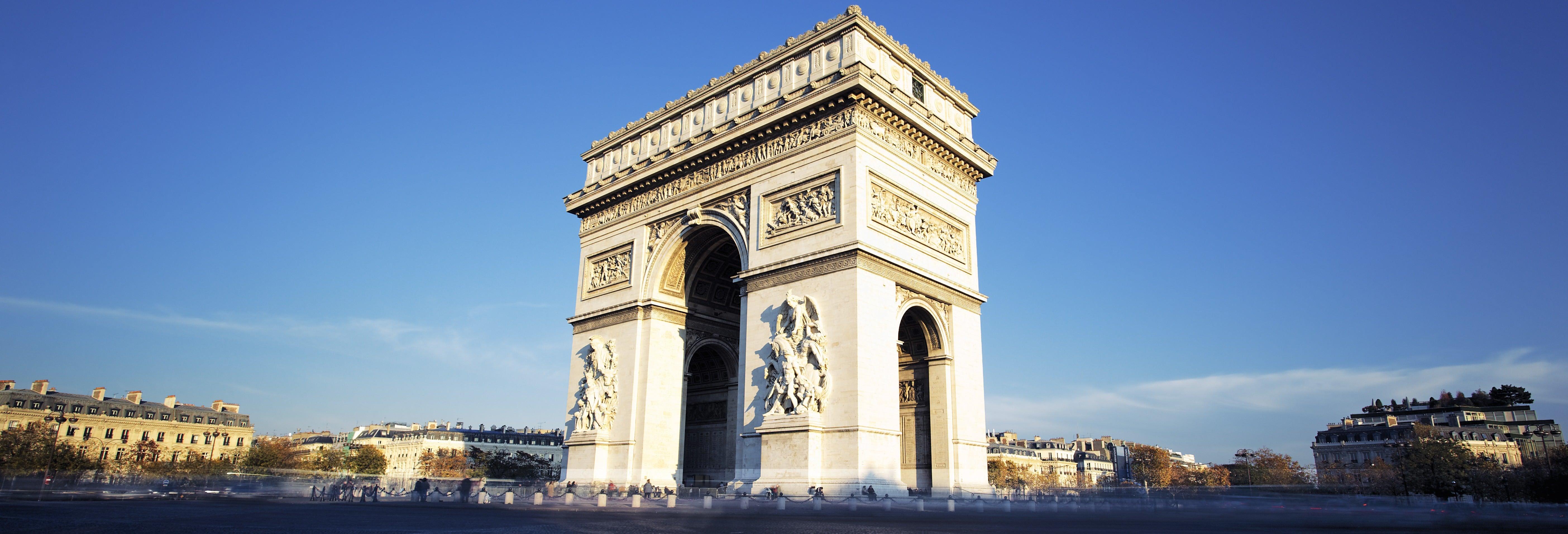 Entrée à l'Arc de Triomphe sans file d'attente