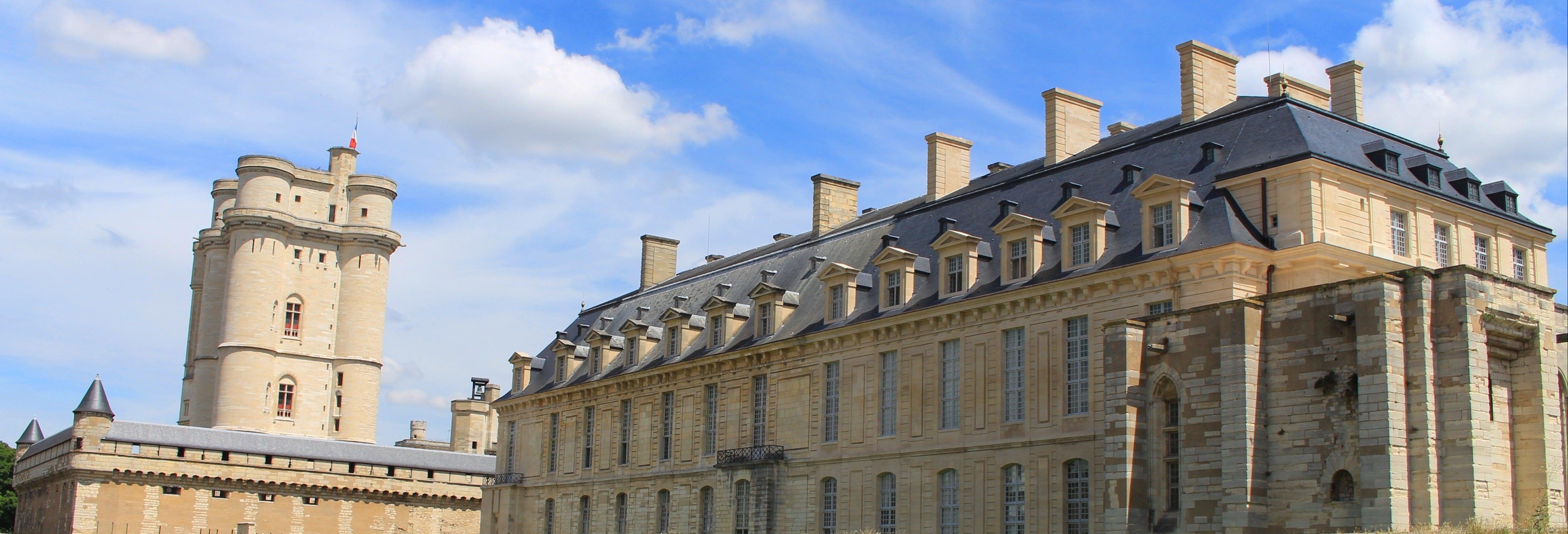 Entrada al castillo de Vincennes y su capilla sin colas