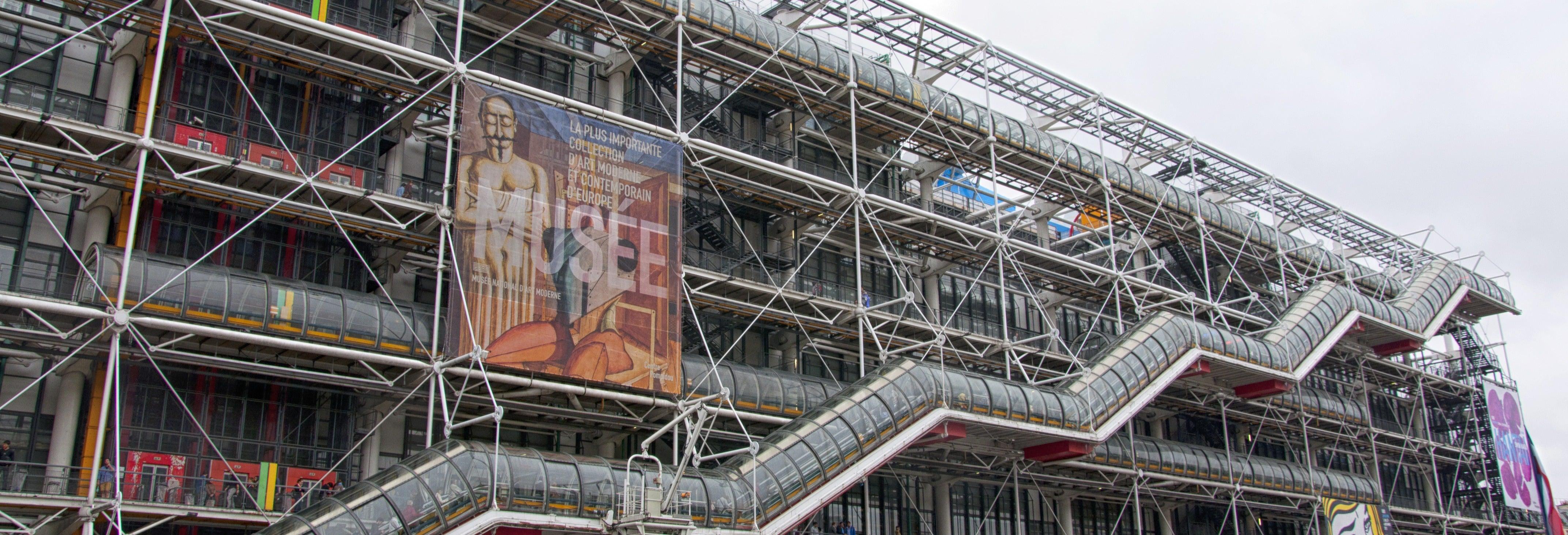 Entrada para el Centro Pompidou sin colas