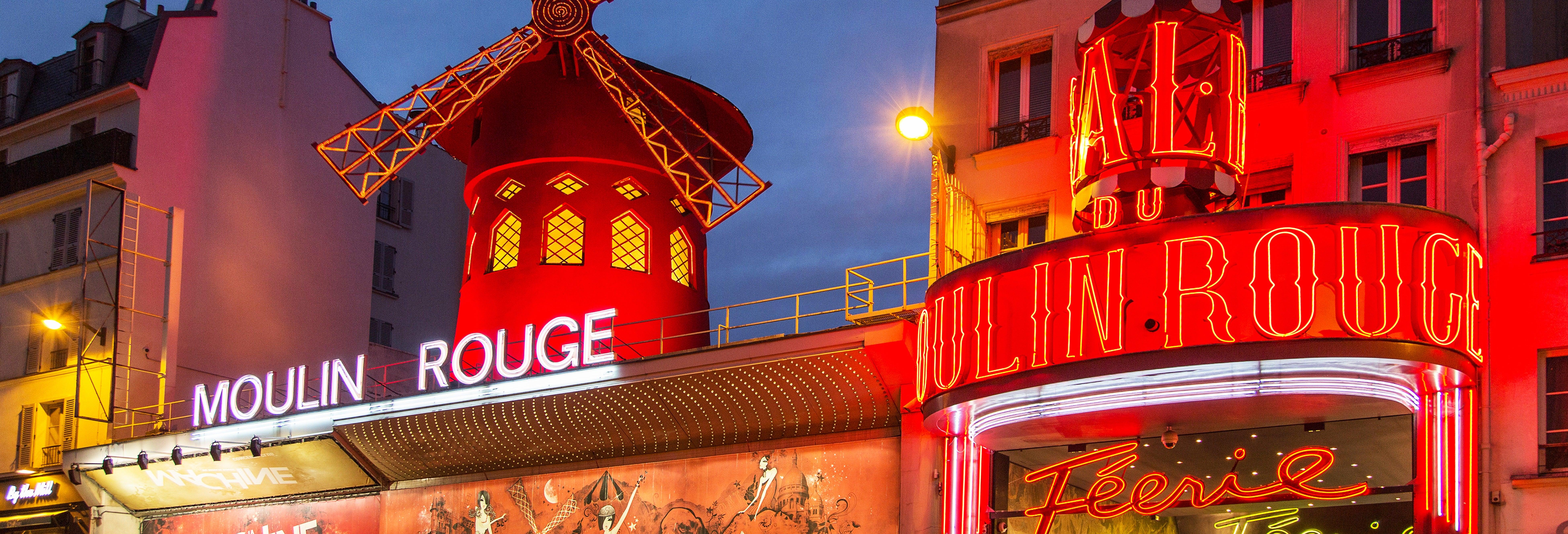 Ingressos do Moulin Rouge