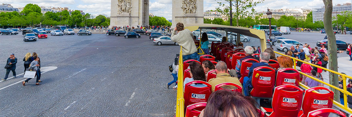 Paris City Bus Tours