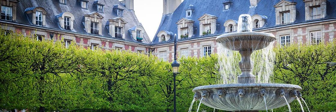 Le Marais et la Place des Vosges