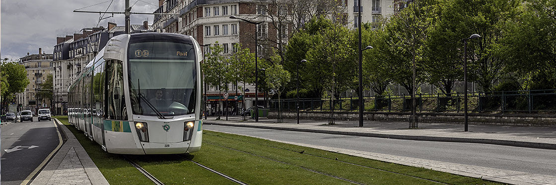 Tramway em Paris