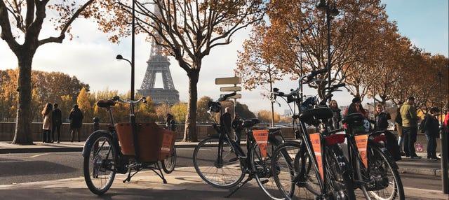 Tour en bicicleta por París