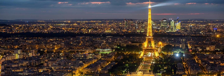 Tour nocturno por París y Moulin Rouge