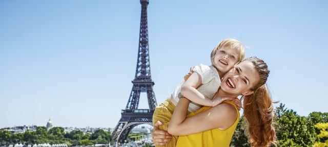 Tour por París para familias