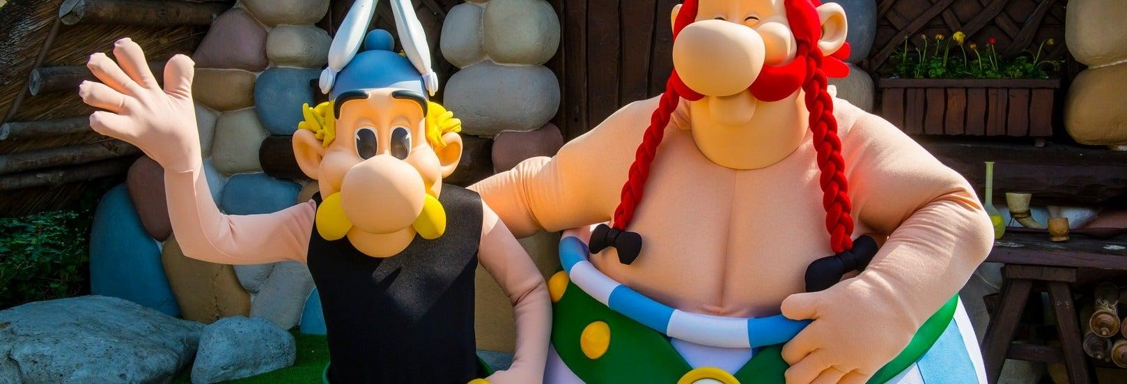 Ingressos do Parque Asterix