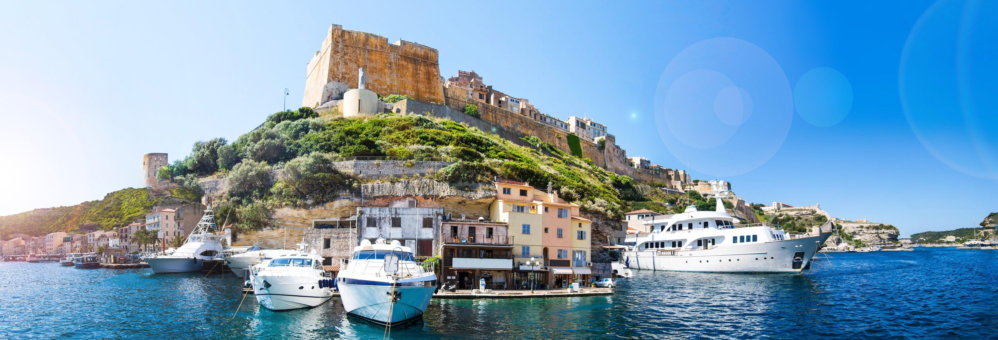 Excursión en barco a Bonifacio