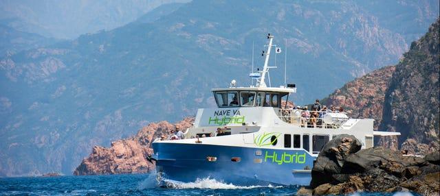 Excursion en bateau à Scandola et Girolata
