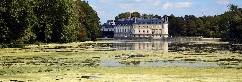 Entrada al castillo de Rambouillet sin colas