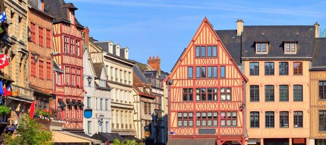 Tour privado por Rouen con guía en español