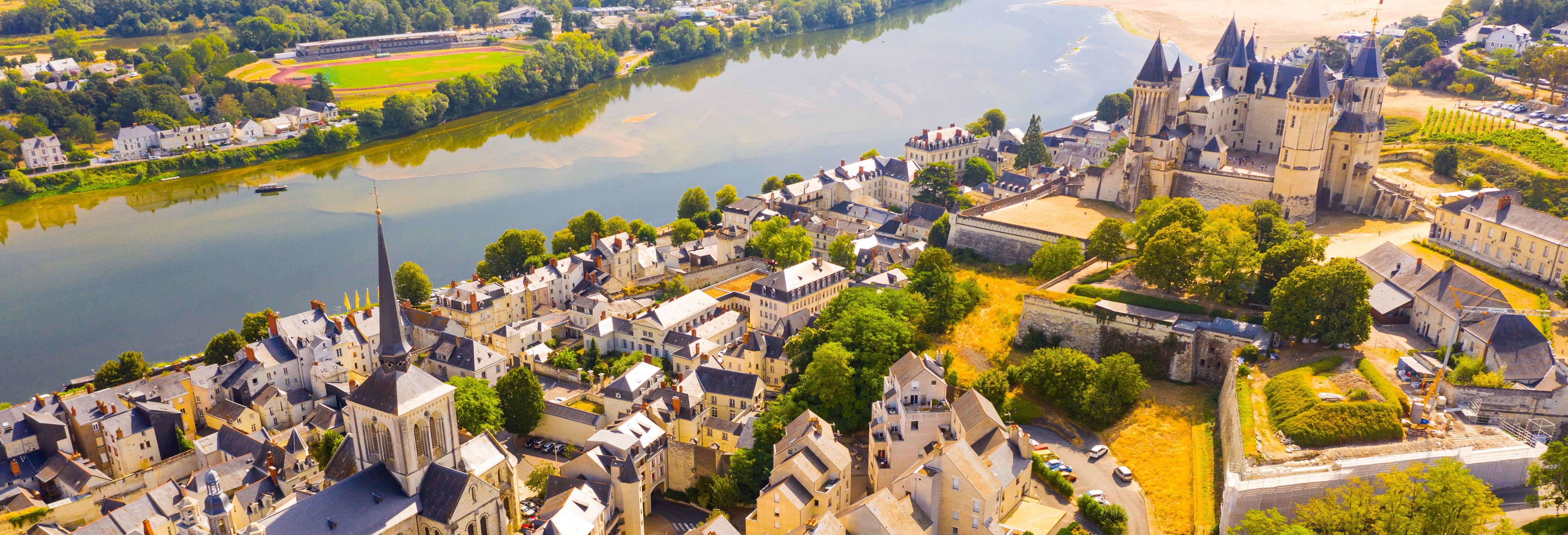 Paseo en barco por el río Loira