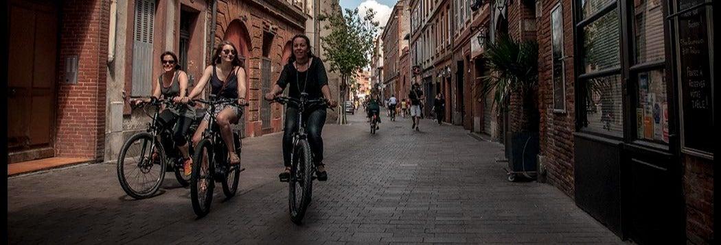Tour en bicicleta eléctrica por Toulouse
