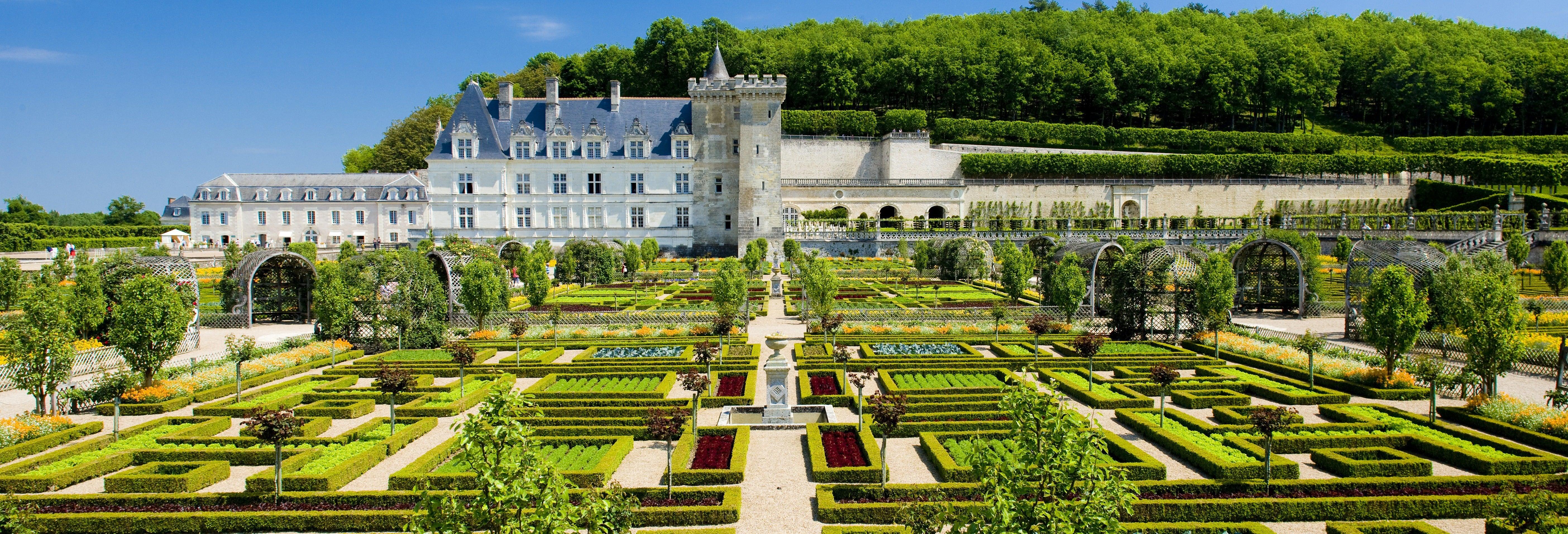 Escursione al castello di Villandry e degustazione di vino a Vouvray