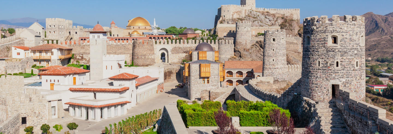 Excursão a Borjomi, Vardzia e castelo de Rabati