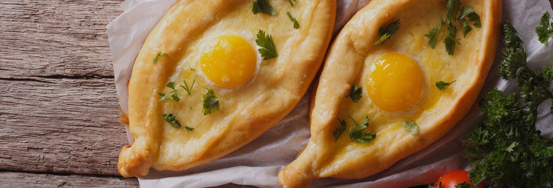 Clase privada de cocina georgiana con comida