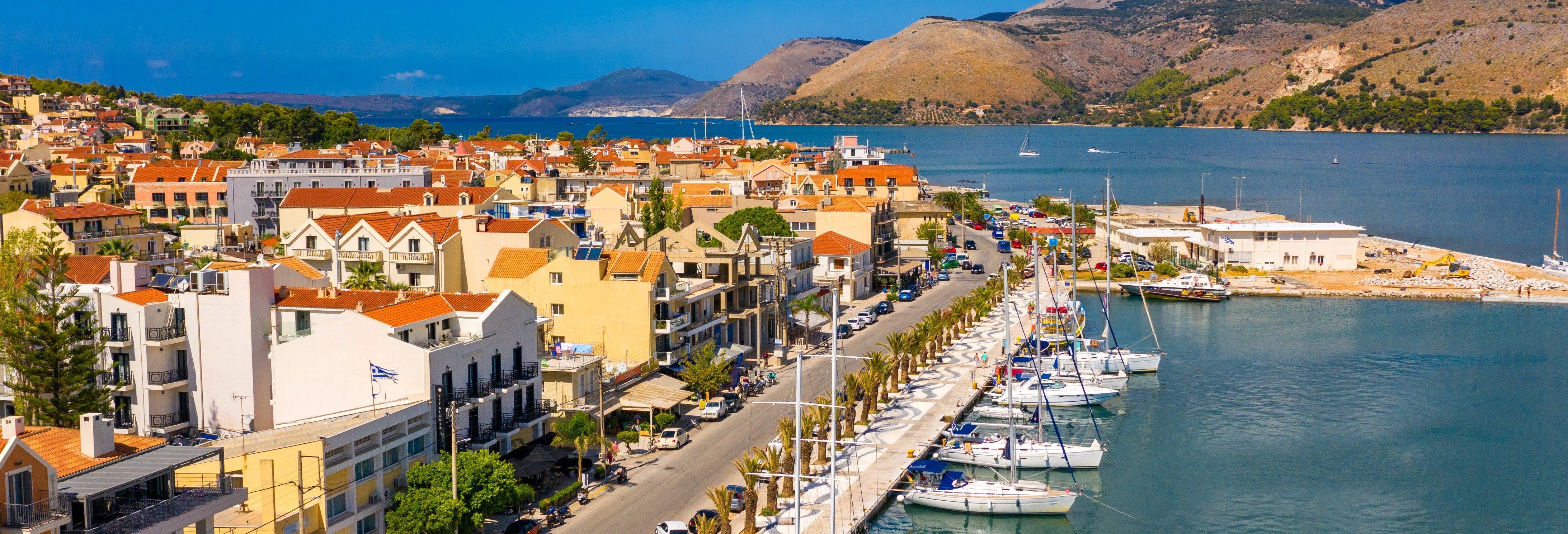 Crociera lungo la costa di Argostoli