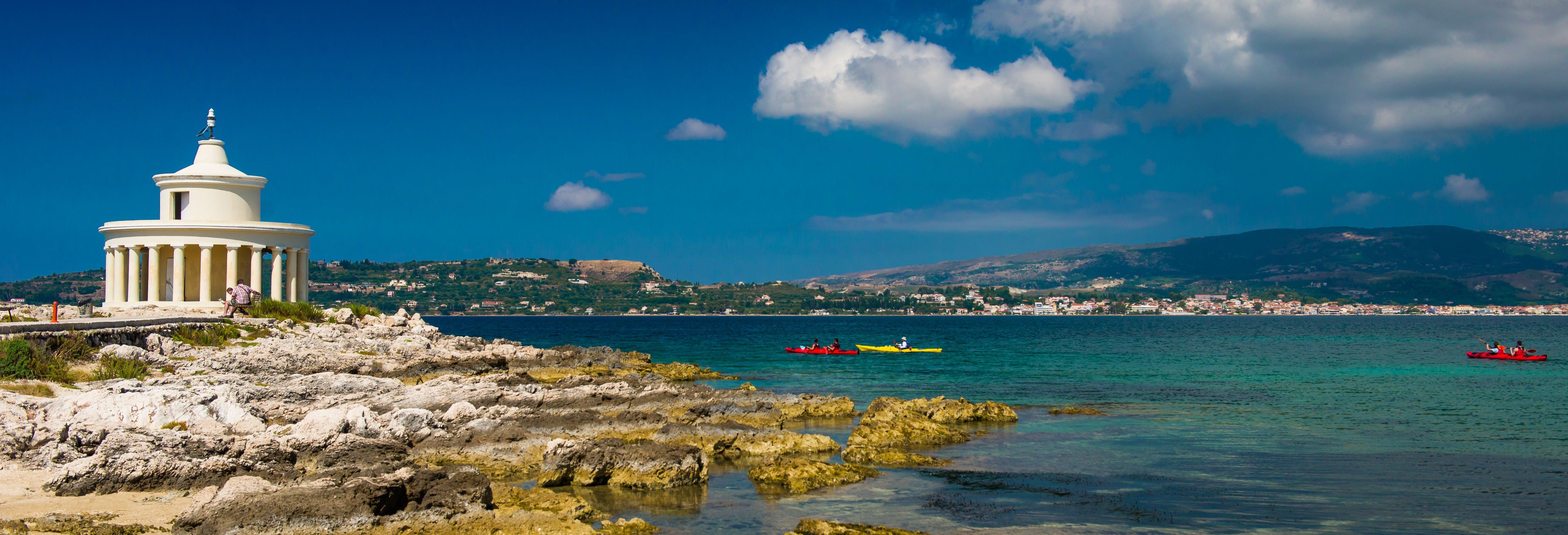 Tour en kayak por Argostoli
