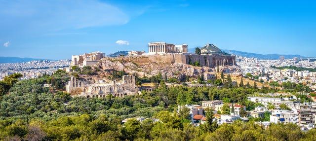 Tour en bicicleta eléctrica por la Acrópolis de Atenas