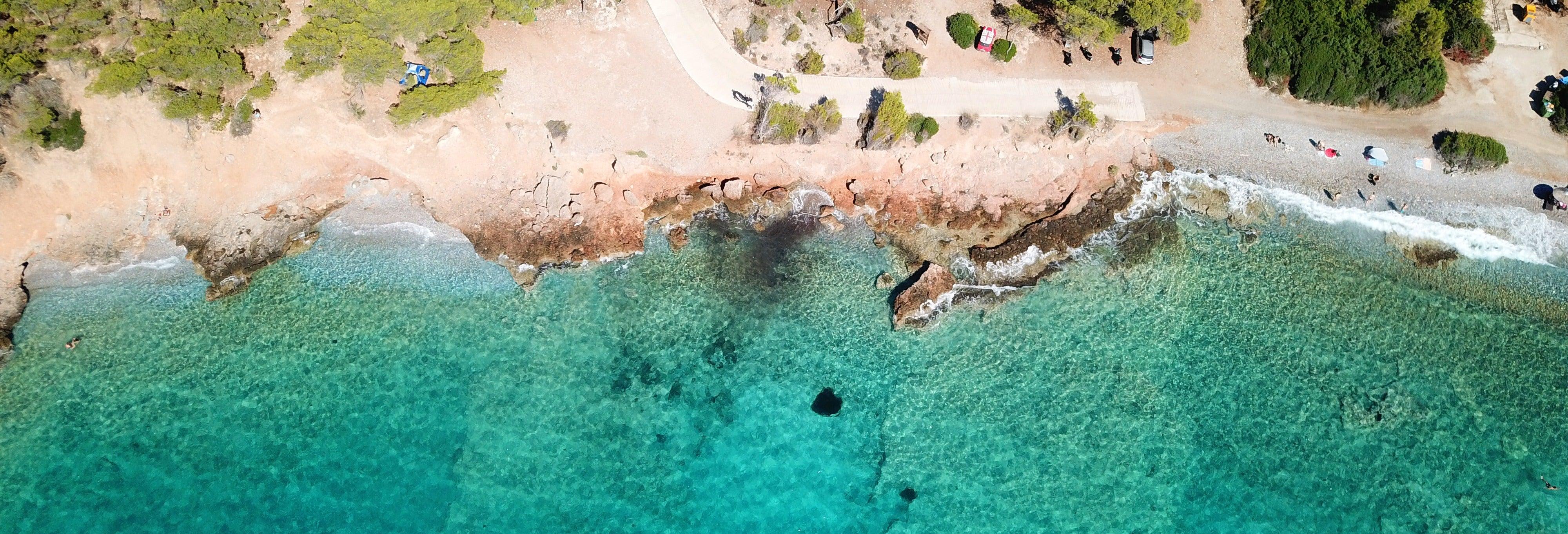 Cruzeiro a Agistri, Moni e Aegina