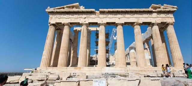 Entrada a la Acrópolis de Atenas