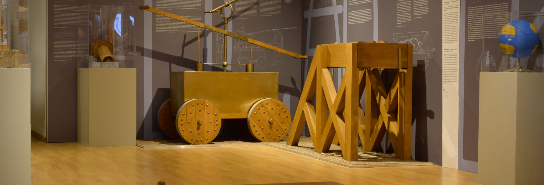 Entrada al Museo de Tecnología de la Antigua Grecia
