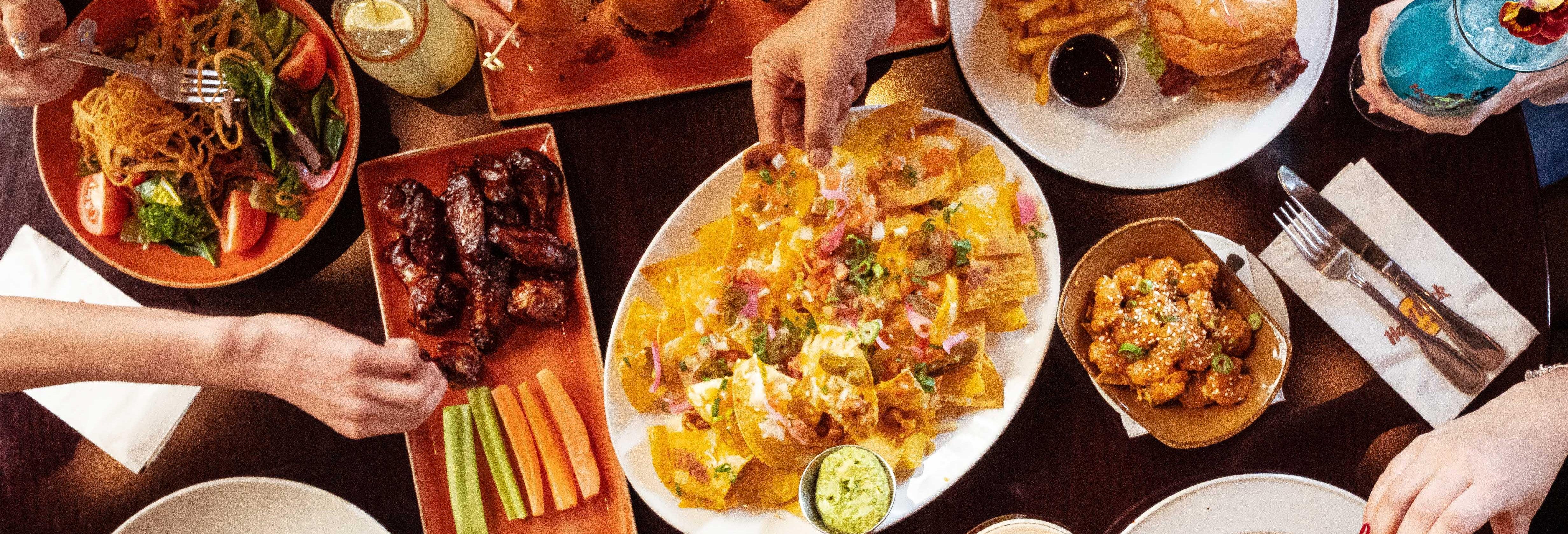 Comida o cena en el Hard Rock Café Athens