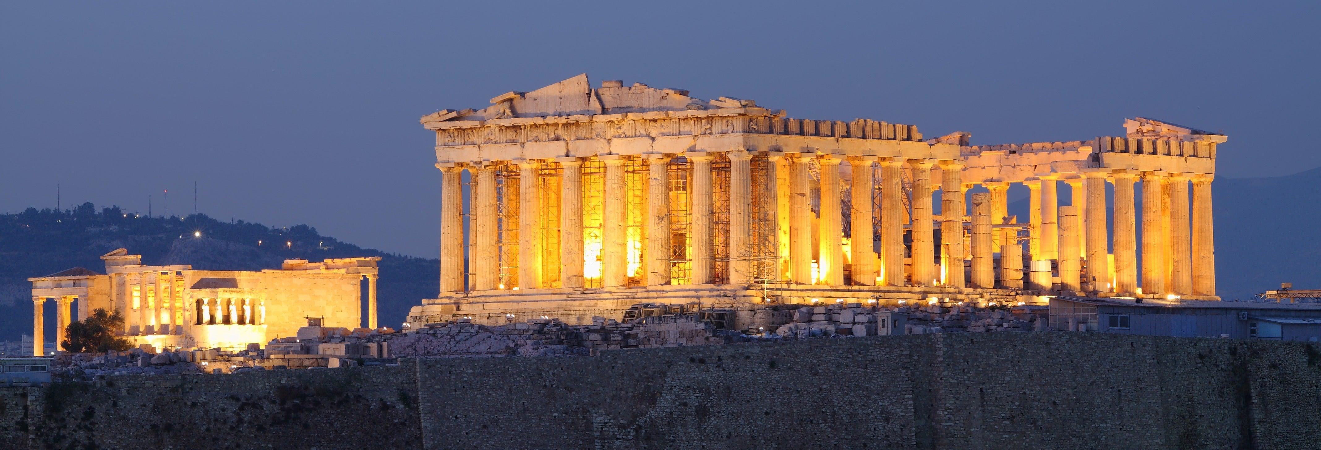 Paseo nocturno por Plaka y Monastiraki