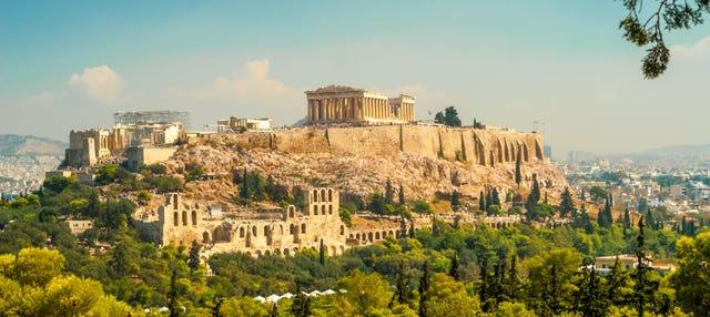 Tour de Atenas, Acrópolis y Plaka para cruceros