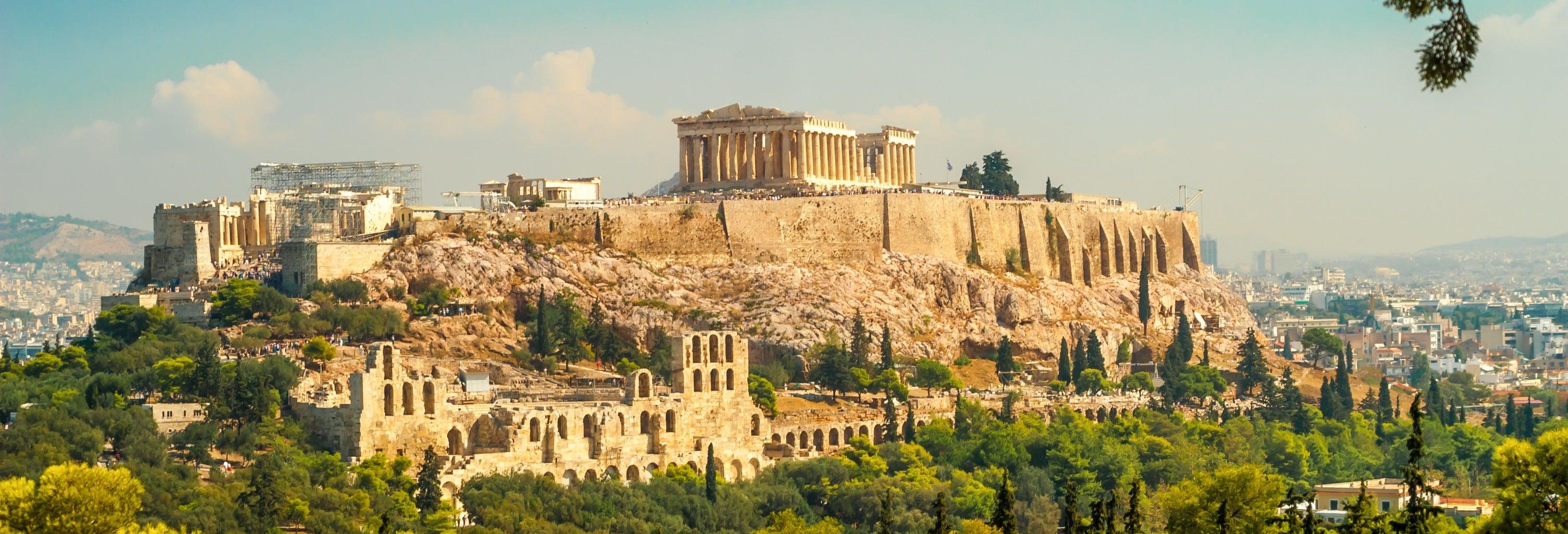 Tour de Atenas, la Acrópolis y Plaka para cruceros