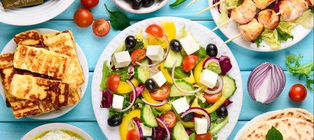 Tour gastronómico por Atenas
