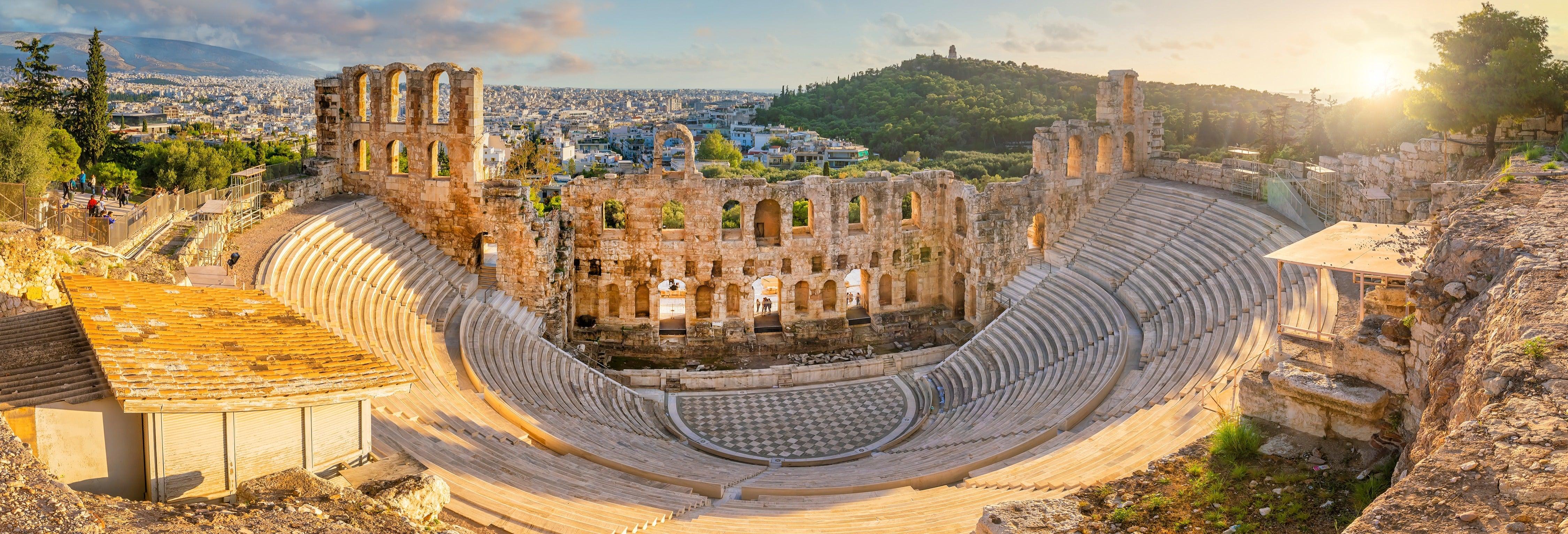 Tour por Atenas e visita à Acrópole