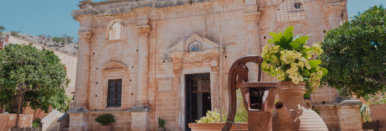 Tour por Akrotiri y Canea para cruceros