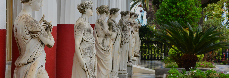 Corfú, Palacio de Achilleion y Kanoni para cruceros