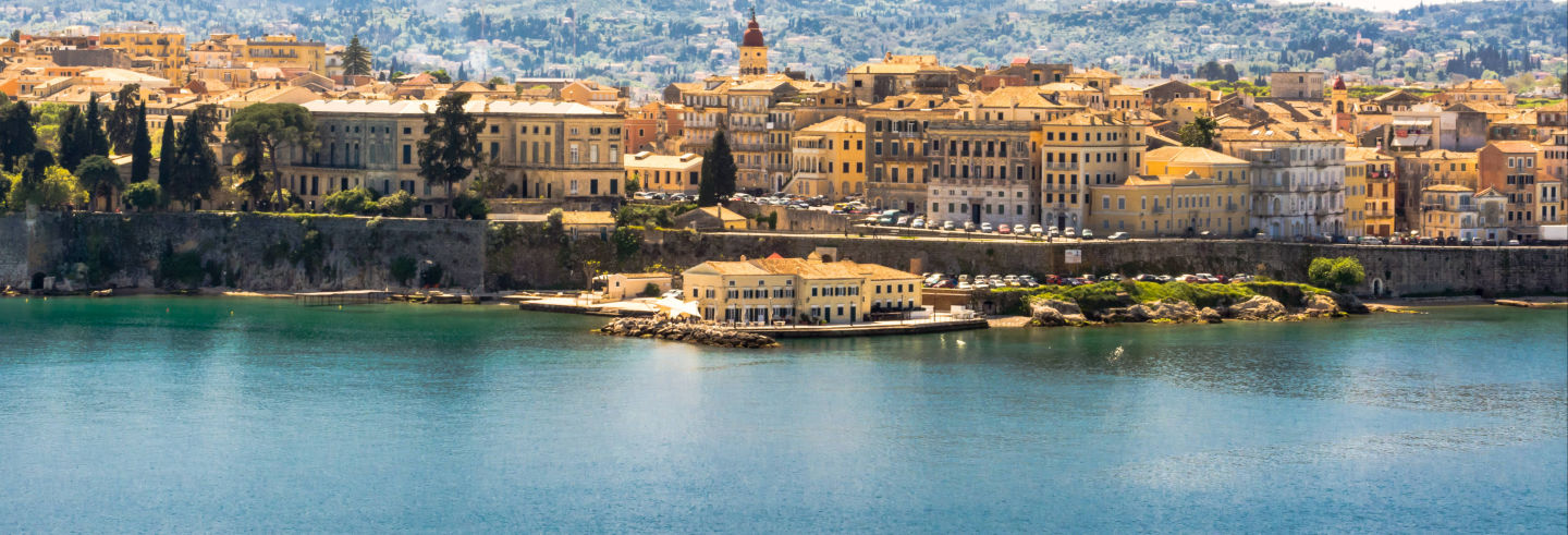 Tour por Corfu, Palácio Achilleion e Paleokastritsa