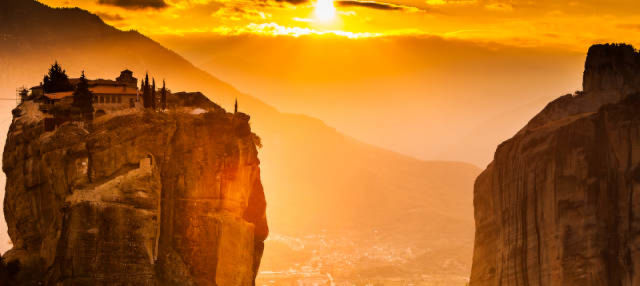 Excursión a Meteora al atardecer