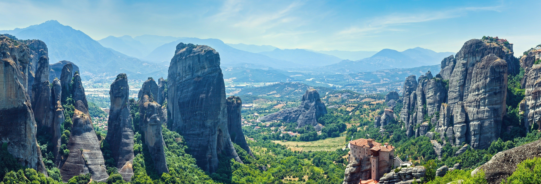 Excursion aux monastères des Météores