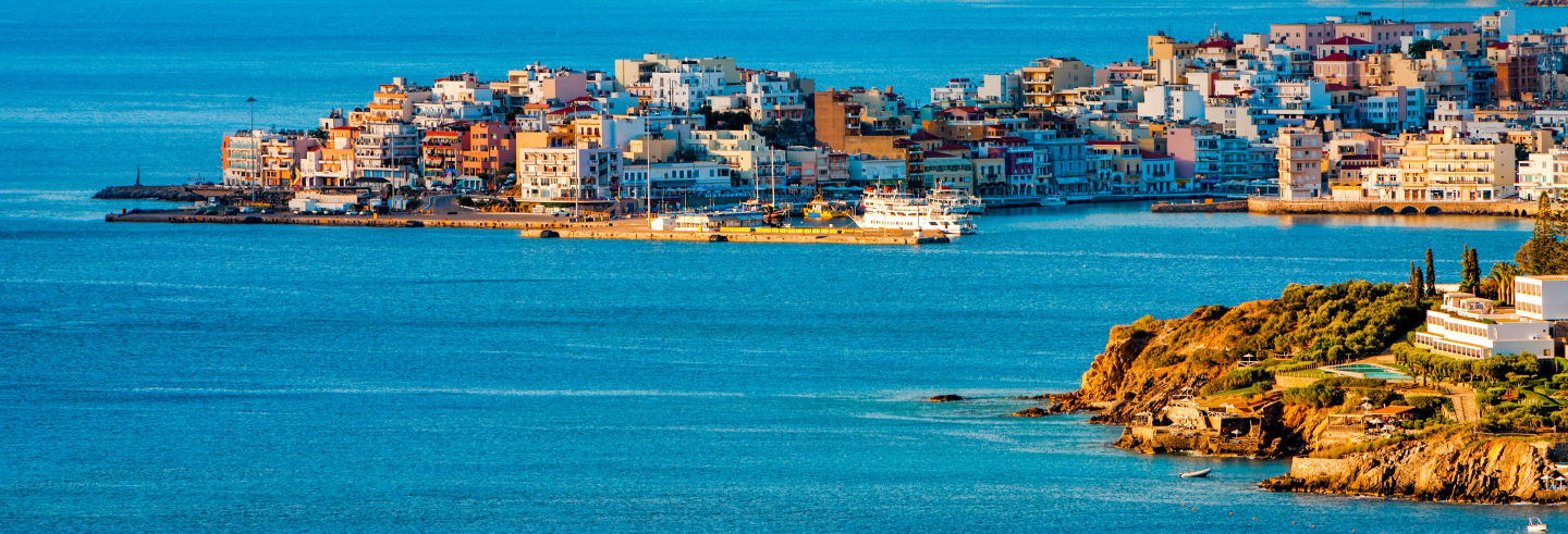 Excursion à Ágios Nikólaos, Elounda et Spinalonga