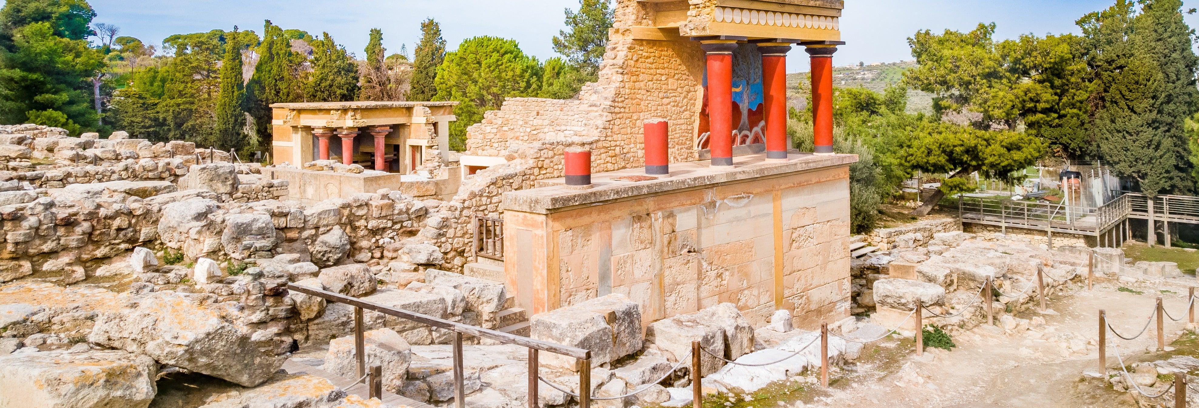 Excursion au Palais de Cnossos et au Plateau du Lassíthi
