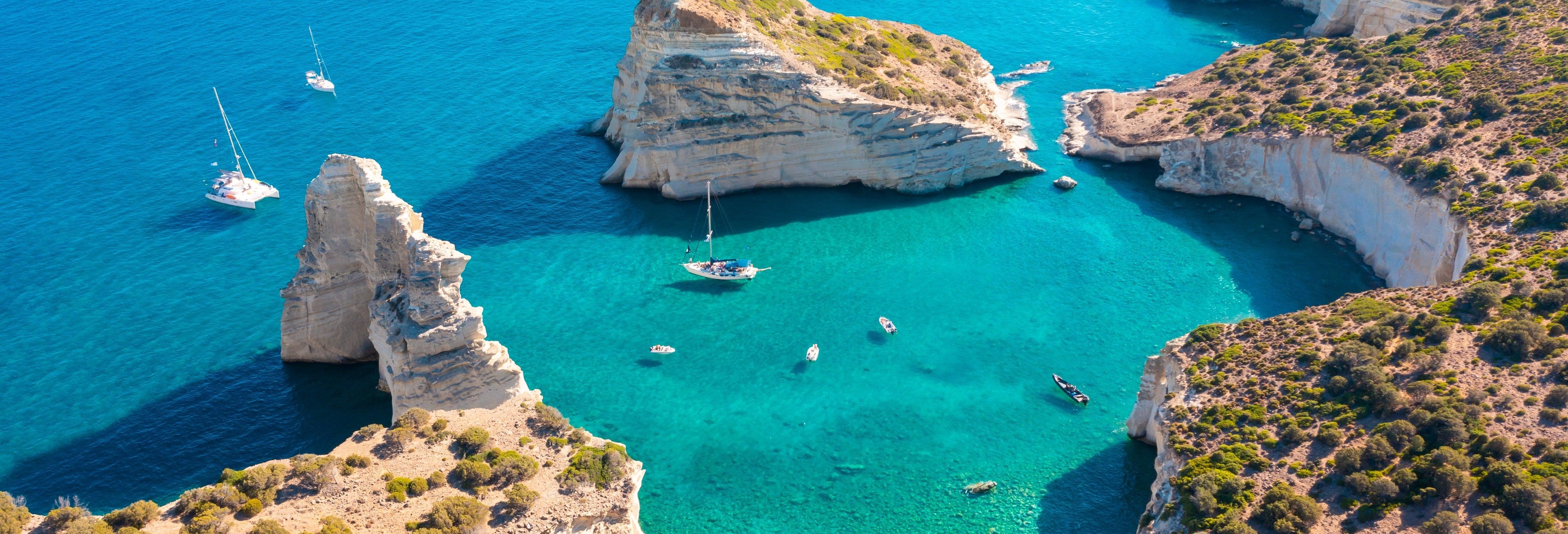 Excursión a Kleftiko y Agios Dimitrios en velero