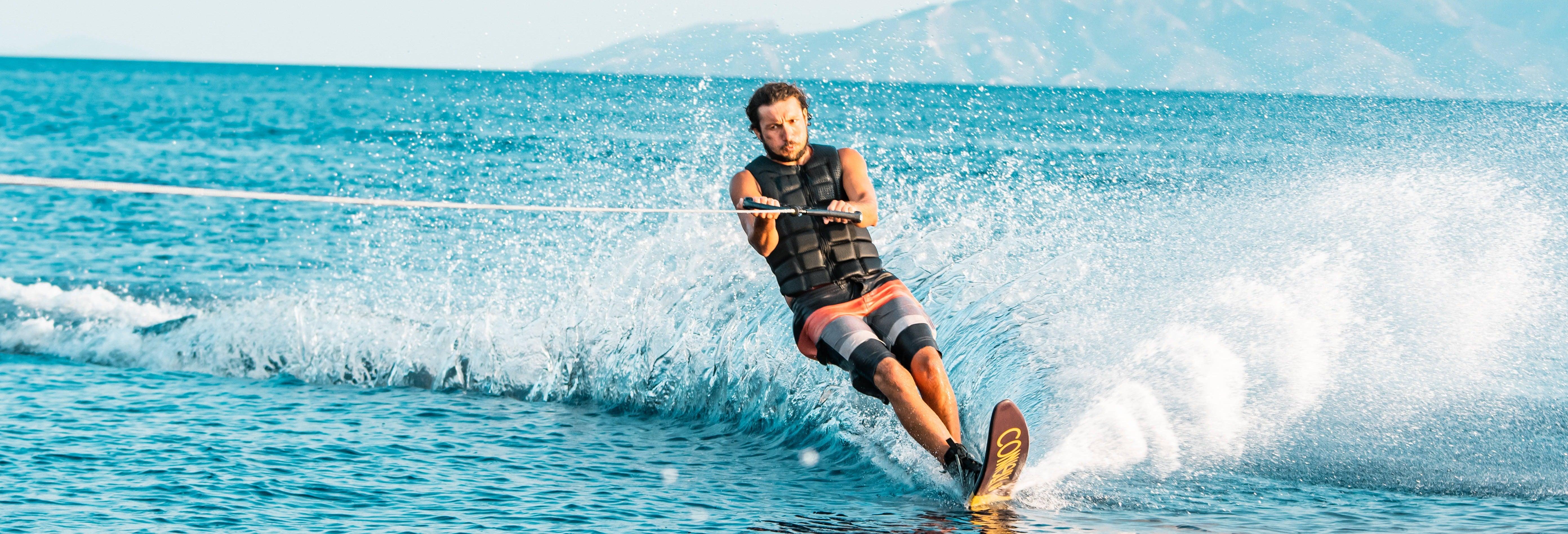 Water Skiing in Mykonos