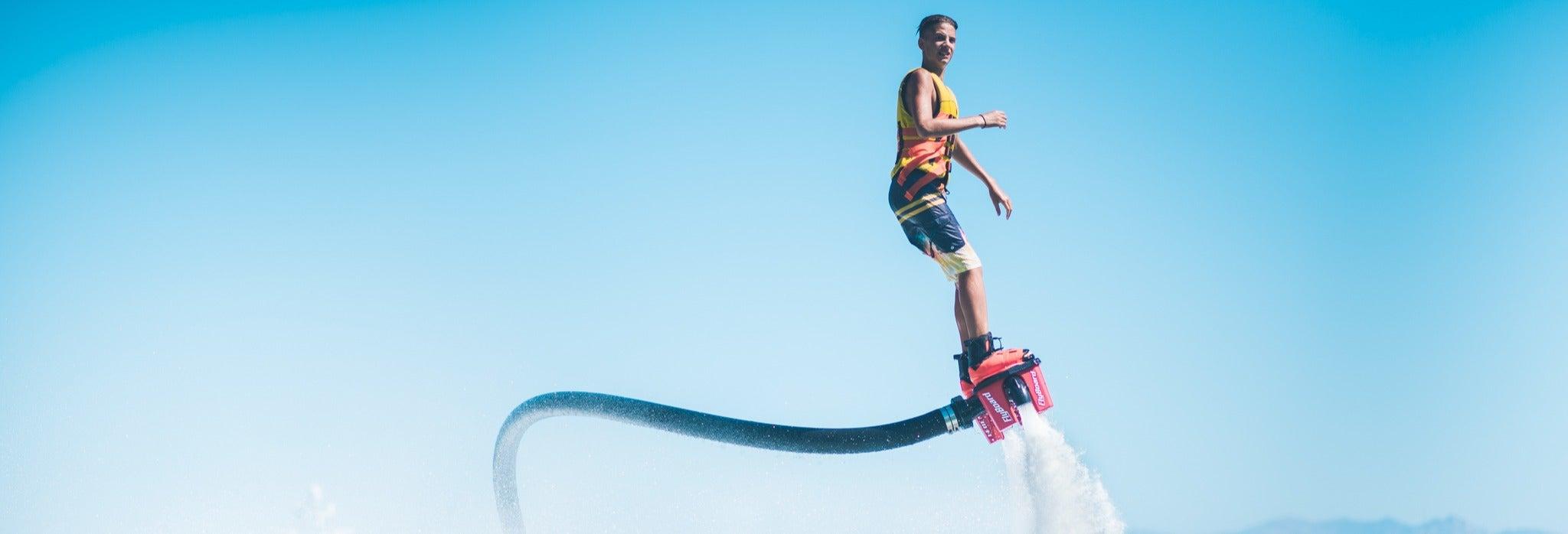 Flyboard em Mykonos
