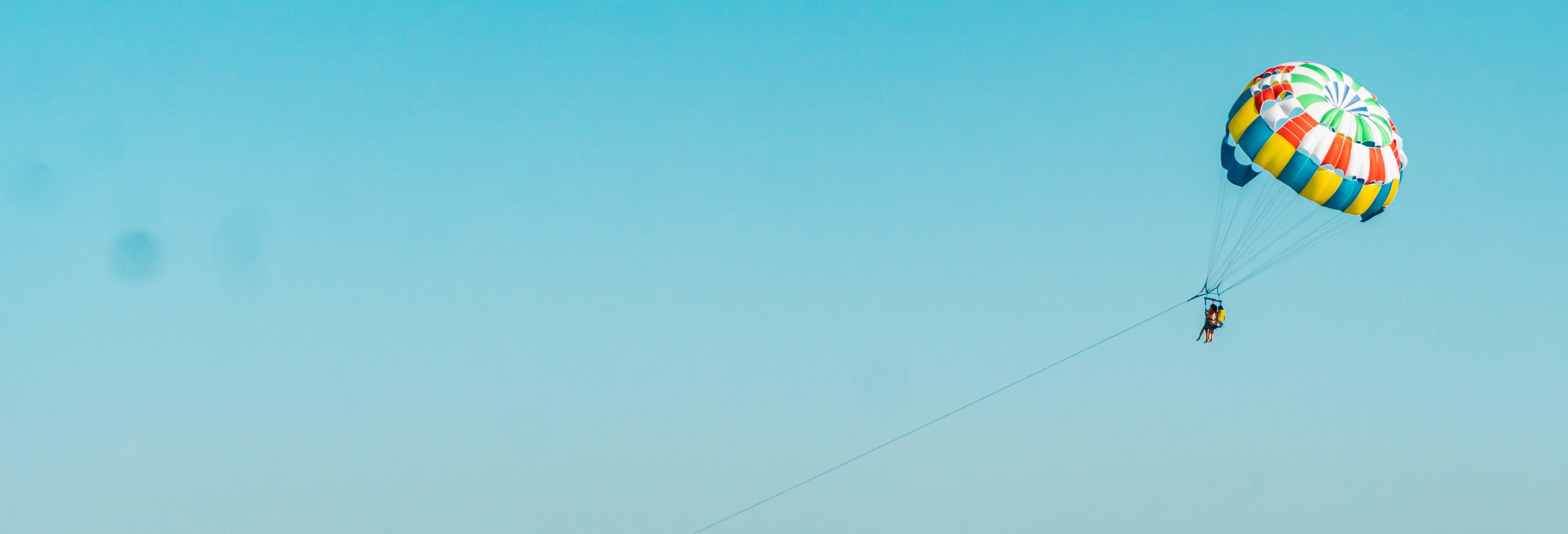 Parasailing en Mykonos