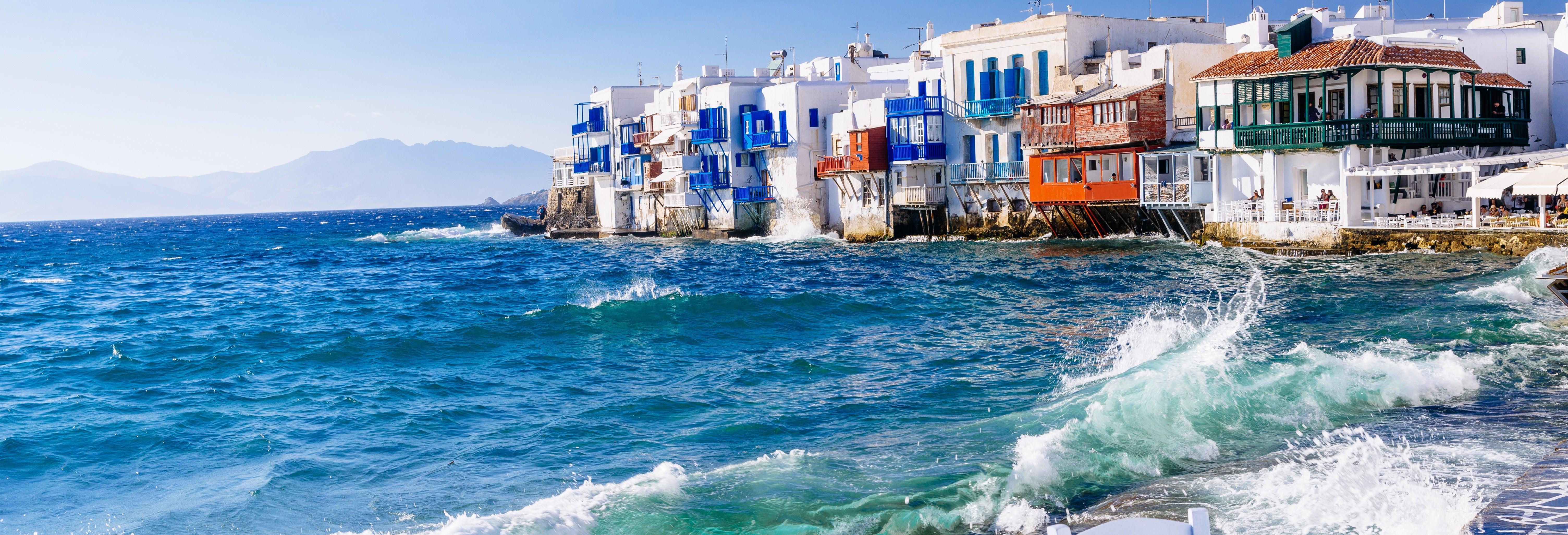 Tour de Mykonos para cruceros