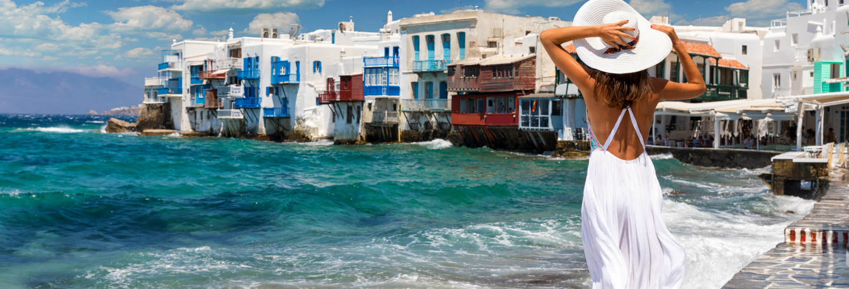 Tour privado por Mykonos con guía en español