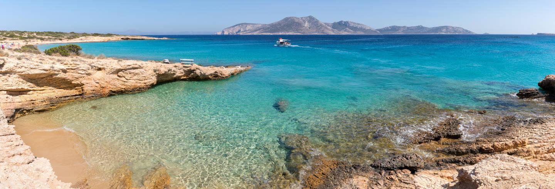 Cruzeiro com almoço pelo sul de Naxos