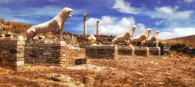 Excursion à Delos et Mykonos