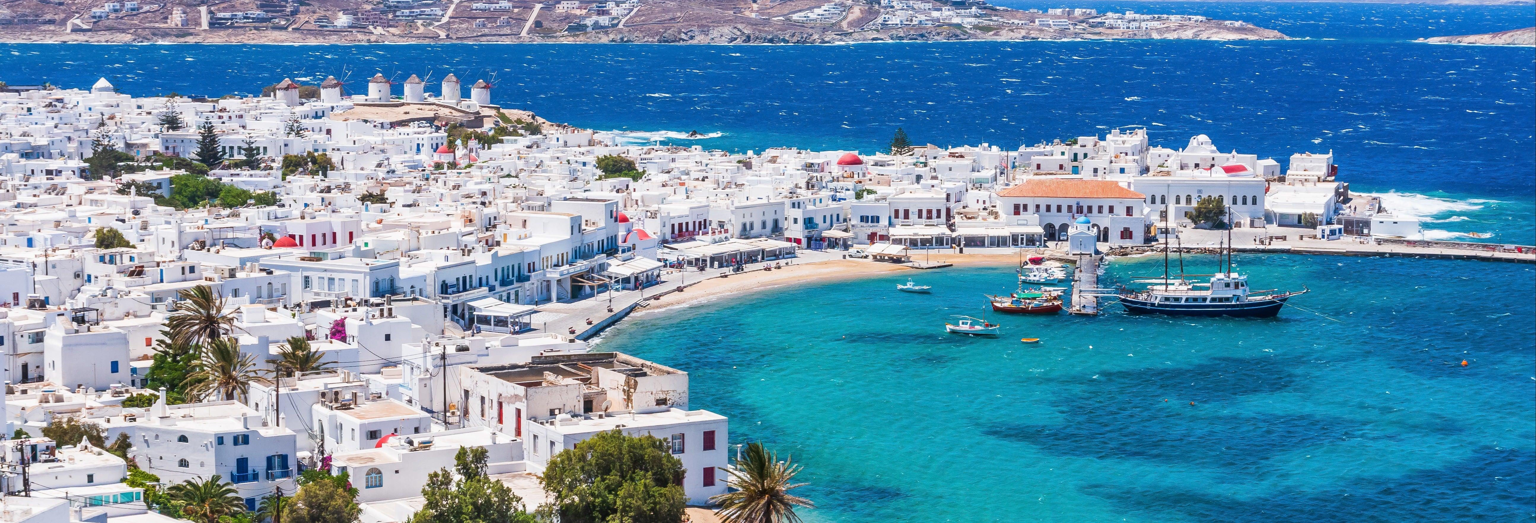 Escursione a Delos e Mykonos