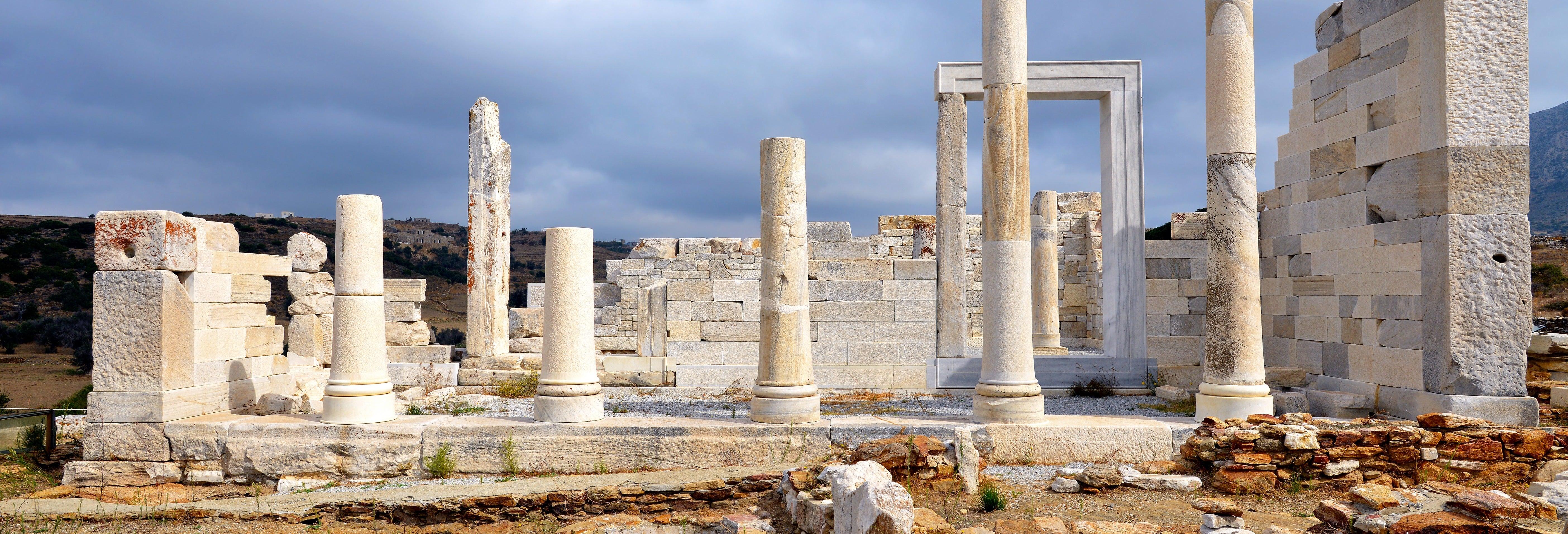 Tour histórico pela ilha de Naxos
